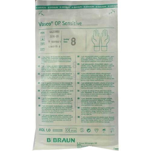 Vasco Op Handschuhe puderfrei Größe 8 steril - 1