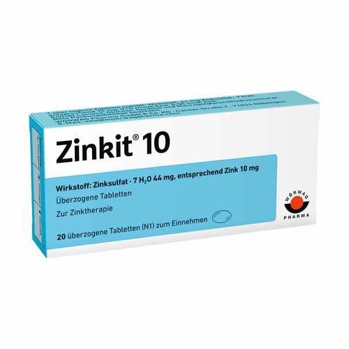 Zinkit 10 überzogene Tabletten - 1