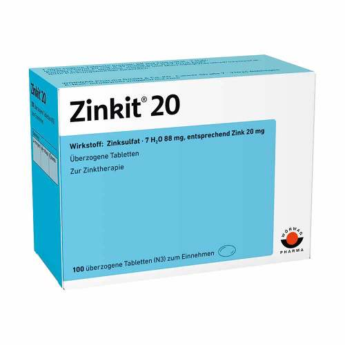 Zinkit 20 überzogene Tabletten - 1