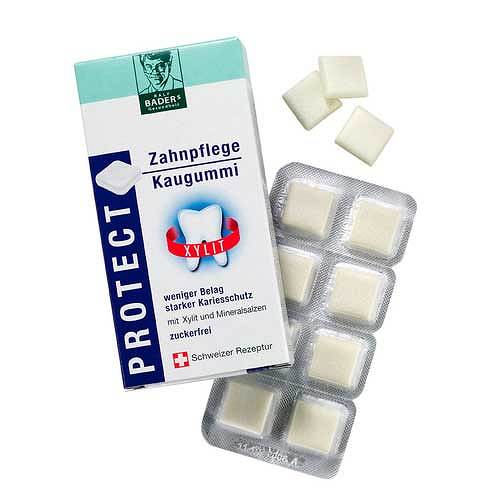 Baders Protect GUM Zahnpflege Kaugummi - 1