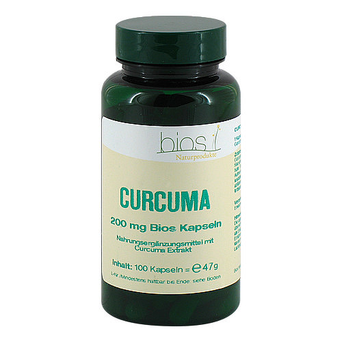 Curcuma 200 mg Bios Kapseln - 1