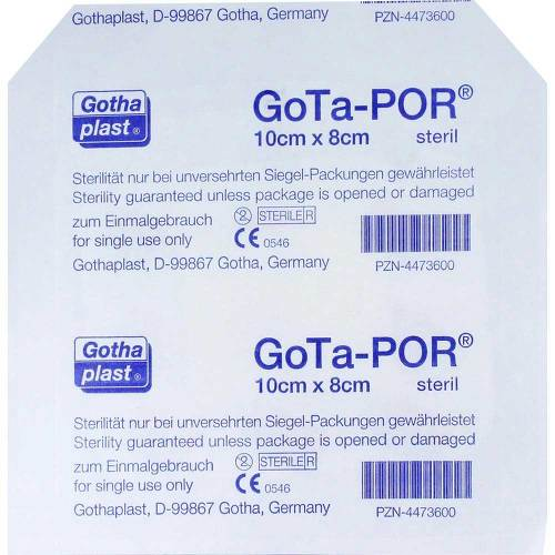 Gota-Por Wundpflaster steril 80x100 mm - 1