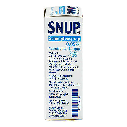 Snup Schnupfenspray 0,05% Nasenspray - 2