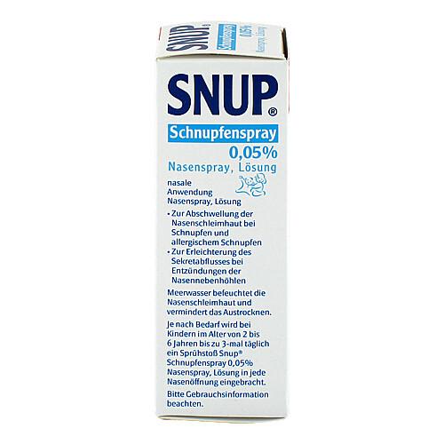 Snup Schnupfenspray 0,05% Nasenspray - 3