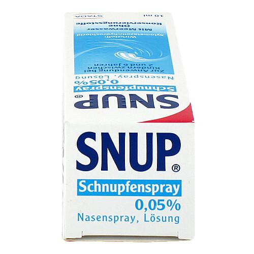 Snup Schnupfenspray 0,05% Nasenspray - 4