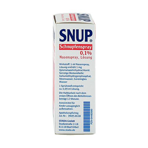 Snup Schnupfenspray 0,1% Nasenspray - 2