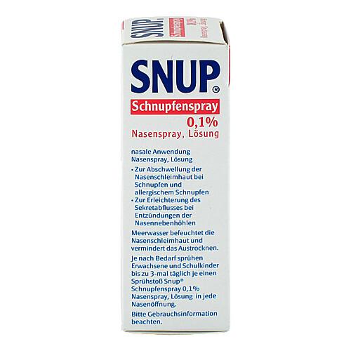 Snup Schnupfenspray 0,1% Nasenspray - 3