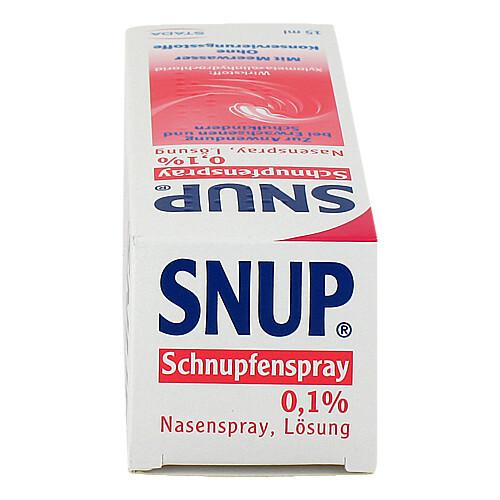 Snup Schnupfenspray 0,1% Nasenspray - 4