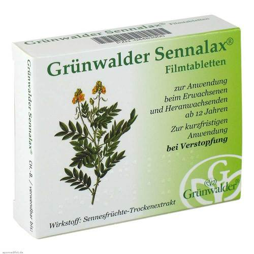 Grünwalder Sennalax Filmtabletten - 1