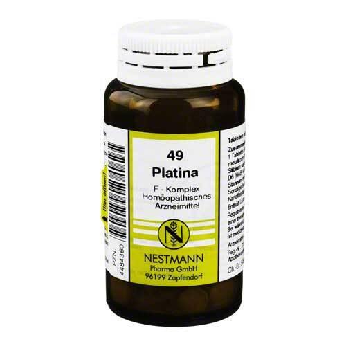 Platina F Komplex Nr. 49 Tabletten - 1