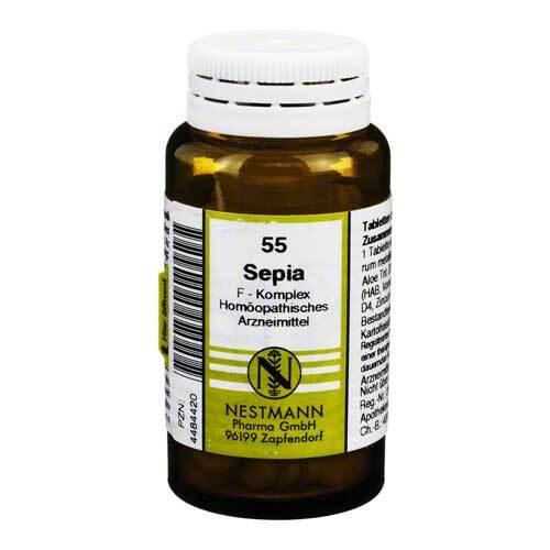 Sepia F Komplex Nr. 55 Tabletten - 1