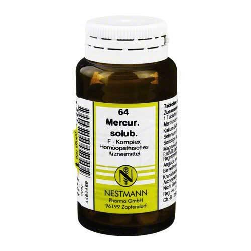 Mercurius solubilis F Komplex Nr. 64 Tabletten - 1