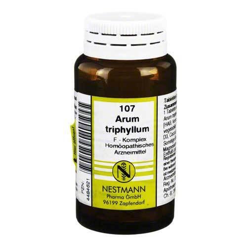 Arum triphyllum F Komplex Nr. 107 Tabletten - 1
