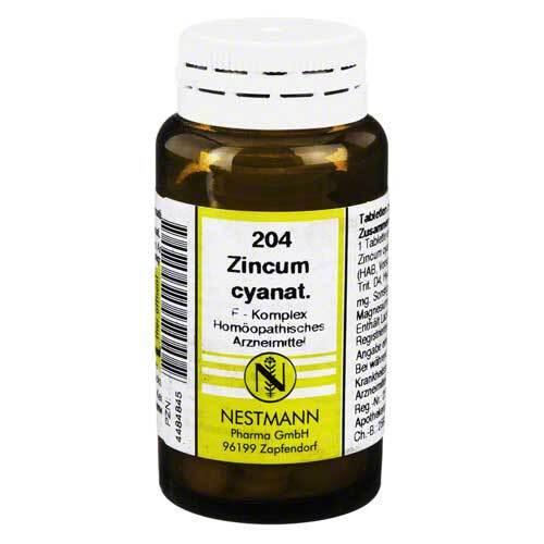 Zincum Cyanat F Komplex Nr. 204 Tabletten - 1