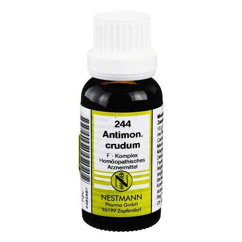 Antimonium crudum F Komplex Nr. 244 Dilution - 1