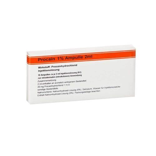 Procain Röwo 1% Ampullen 2 ml - 1