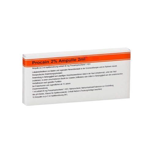 Procain Röwo 2% Ampullen 2 ml - 1