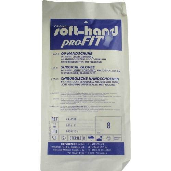 Handschuhe OP Latex steril Größe 8 - 1