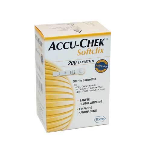 Accu Chek Softclix Lanzetten - 1