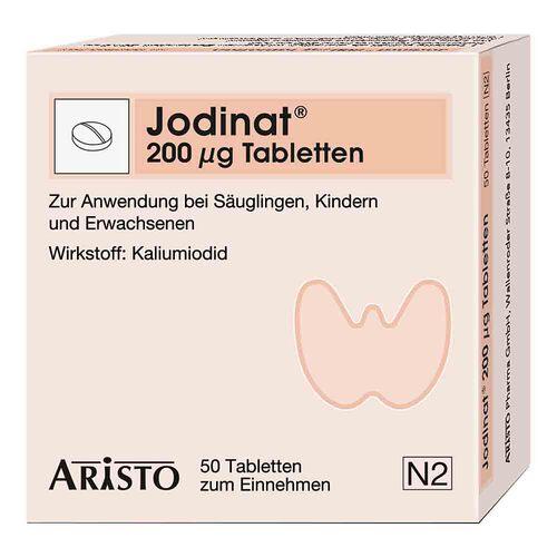 Jodinat 200 µg Tabletten - 1