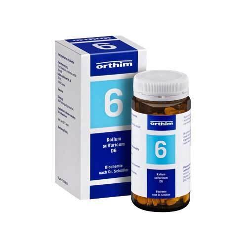 Biochemie Orthim 6 Kalium sulfuricum D 6 Tabletten - 1