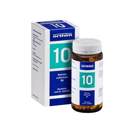 Biochemie Orthim 10 Natrium sulfuricum D 6 Tabletten - 1