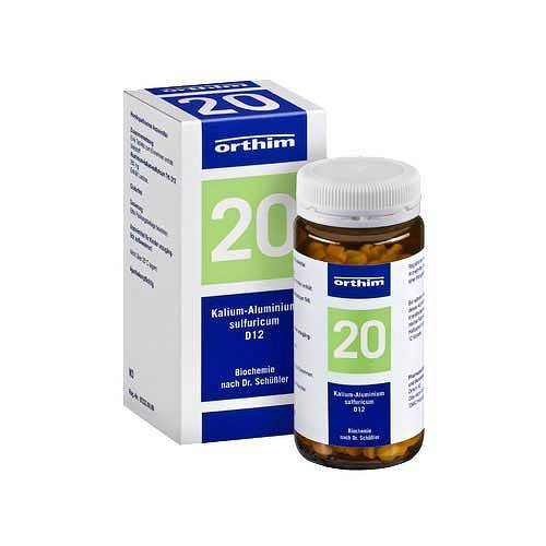 Biochemie Orthim 20 Kalium alumin.sulfuricum D 12 Tabletten - 1