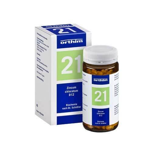 Biochemie Orthim 21 Zincum chloratum D 12 Tabletten - 1