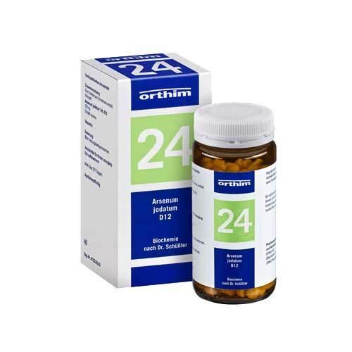 Biochemie Orthim 24 Arsenum jodatum D 12 Tabletten - 1