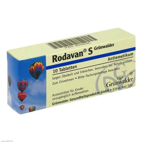 Rodavan S Grünwalder Tabletten - 1