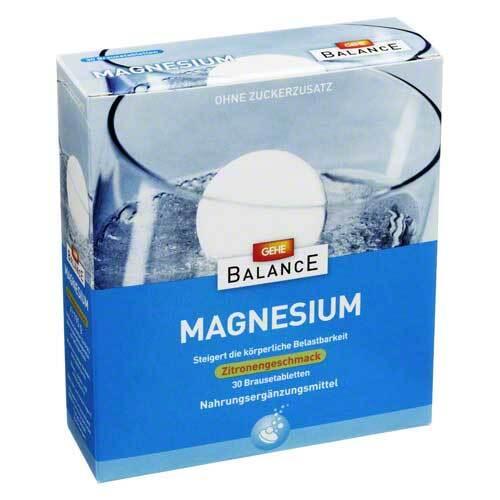 Gehe Balance Magnesium 375 mg Brausetabletten - 1