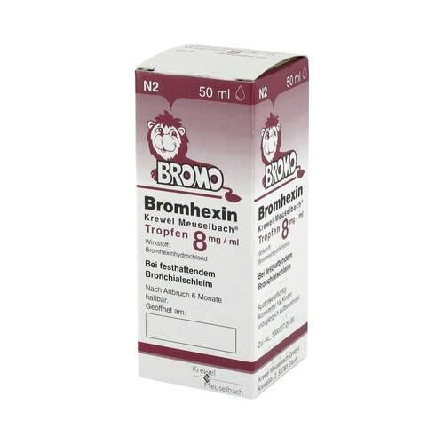 Bromhexin Tropfen 8 mg - 1