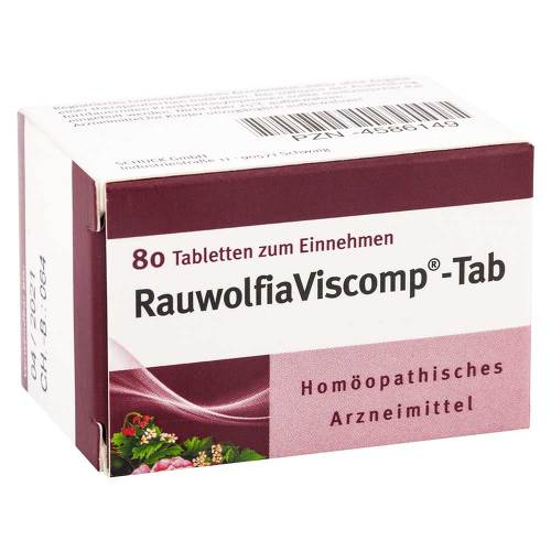 Rauwolfiaviscomp Tab Tabletten - 1