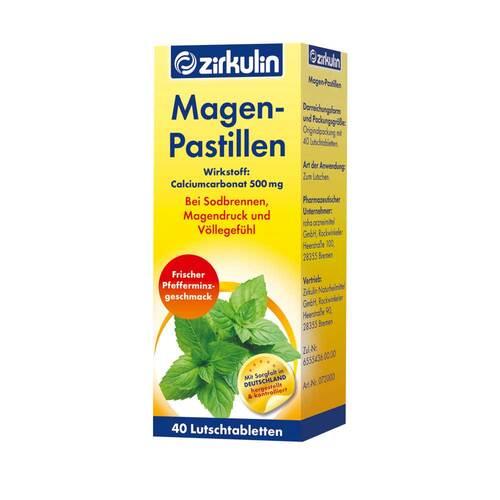 Zirkulin Magen-Pastillen - 1