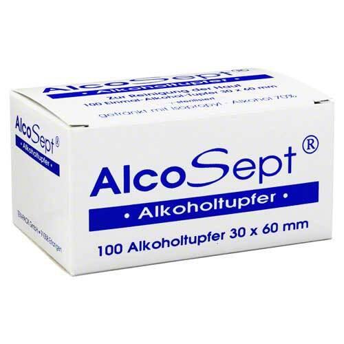 Alkoholtupfer Alcosept - 1