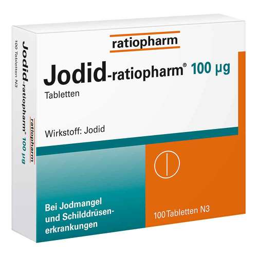 Jodid ratiopharm 100 µg Tabletten - 1