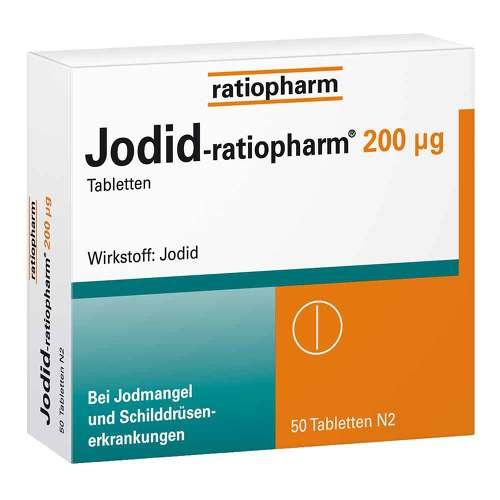 Jodid ratiopharm 200 µg Tabletten - 1