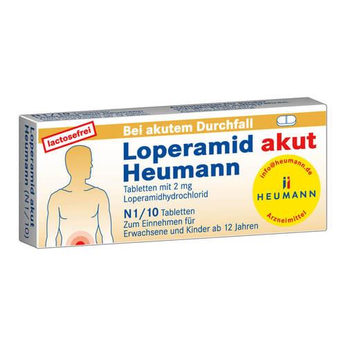 Loperamid akut Heumann Tabletten - 1