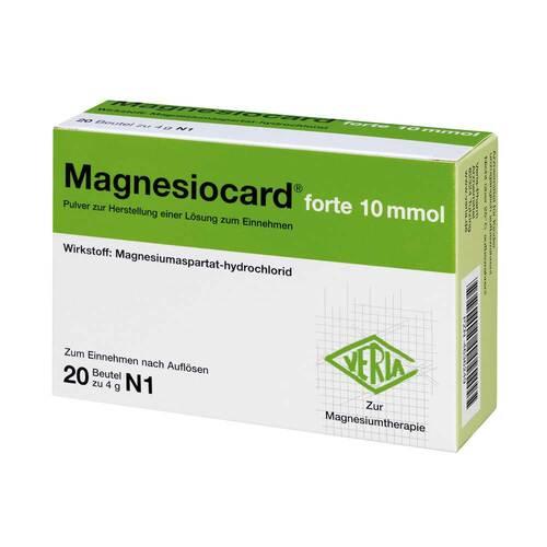Magnesiocard forte 10 mmol P - 1