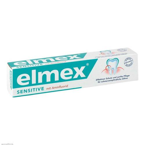 Elmex Sensitive Zahnpasta mit Faltsch. - 1