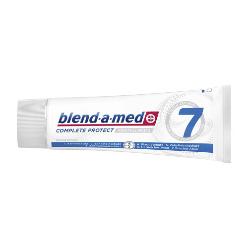Blend A Med Complete plus weiß Zahncreme - 1