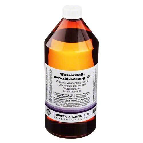 Wasserstoffperoxid Lösung 3% - 1