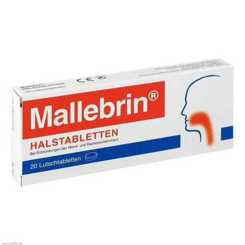 Mallebrin Halstabletten - 1