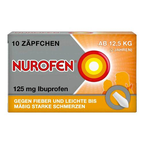 Nurofen Junior 125 mg Zäpfchen - 1