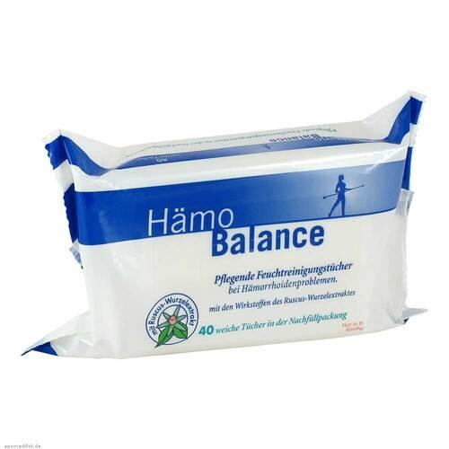 Hämo Balance Pflegende Reinigungstücher - 1