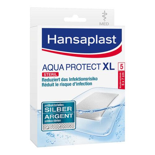 Hansaplast med Aqua Protect Pflaster XL 6x7 cm - 1