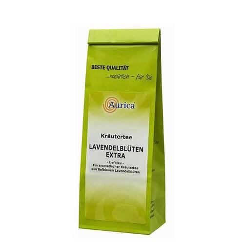 Lavendelblüten Tee extra tiefblau - 1