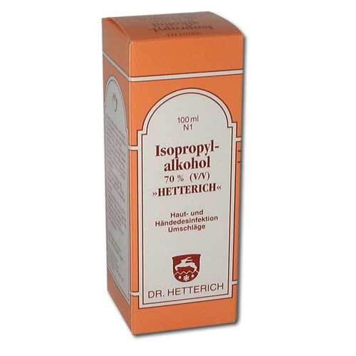 Isopropylalkohol 70% V / V Hetterich - 1