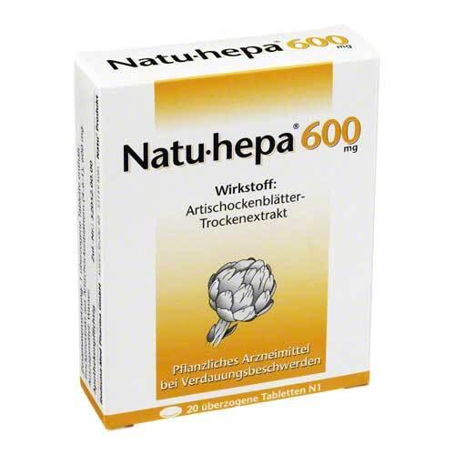 Natu Hepa 600 mg überzogene Tabletten - 1