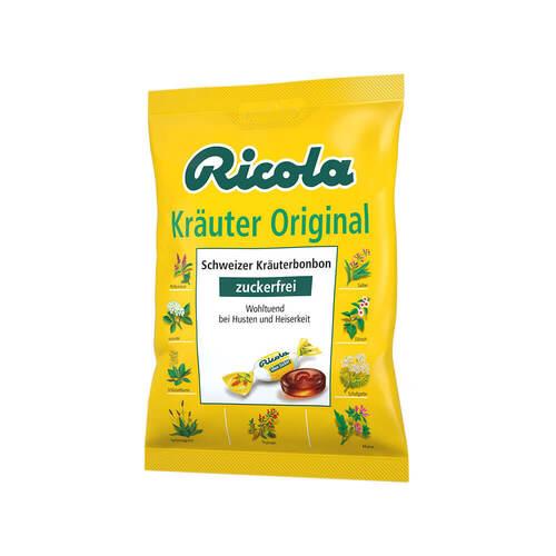 Ricola ohne Zucker Kräuter Bonbons - 1